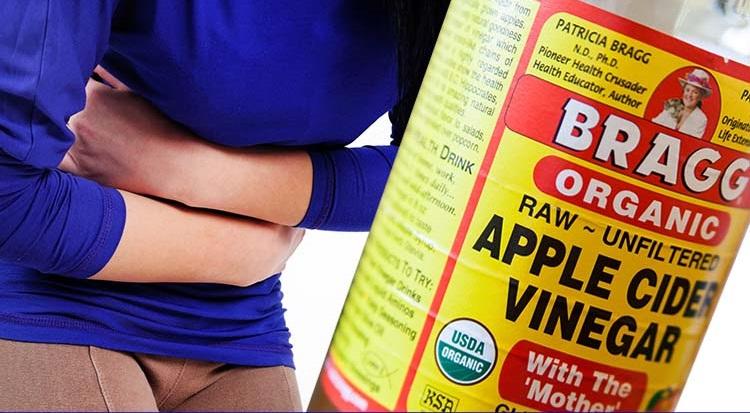 Vinagre de manzana para el estreñimiento