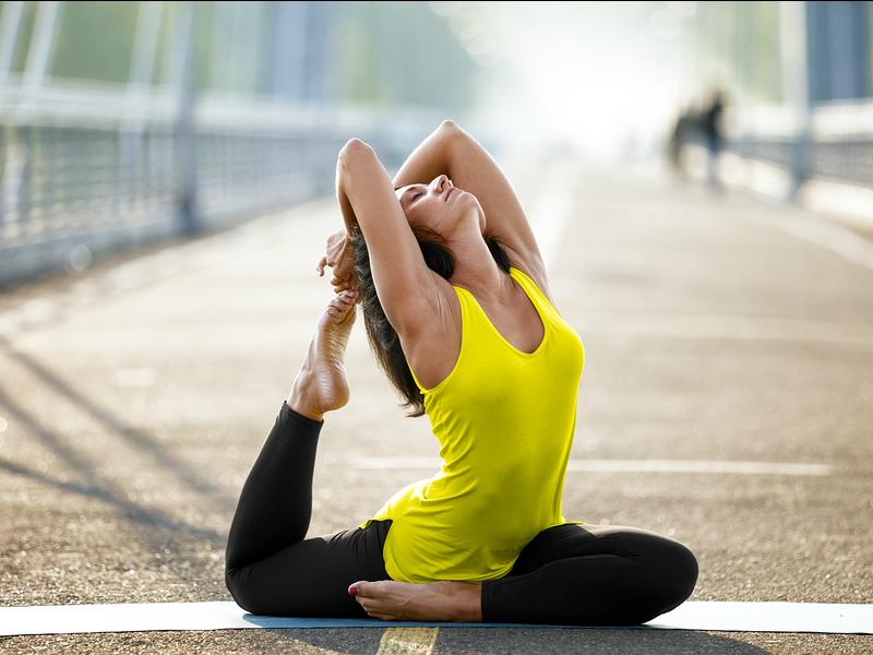 Yoga Asanas para maximizar la estabilidad de la cadera
