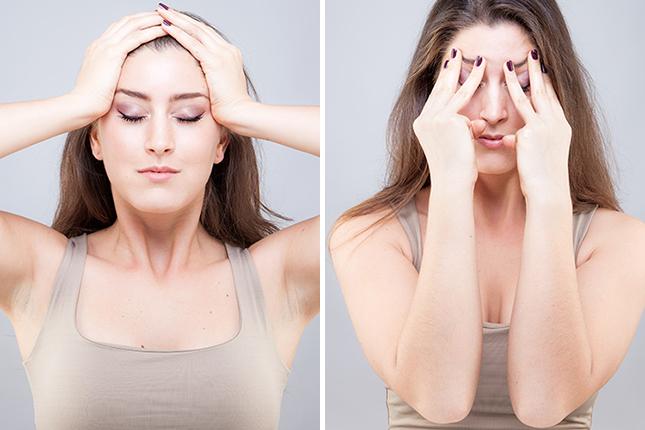 Yoga facial: para luchar contra las arrugas naturalmente