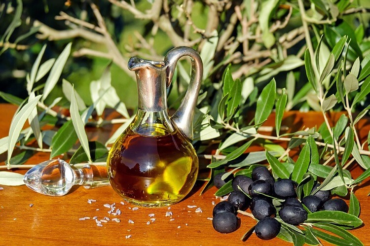 oliva virgen extra Aceite de Masaje