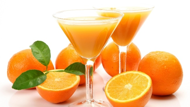uso de jugo de naranja