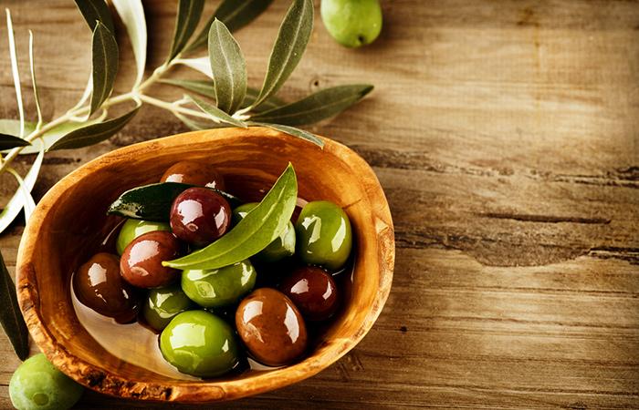 Aceite de oliva Acondicionador para cabello seco