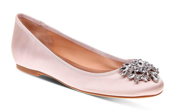 Badgley Mischka Bianca jeweled Ballet plano