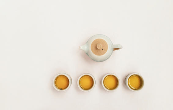 Bebí un té chino tradicional