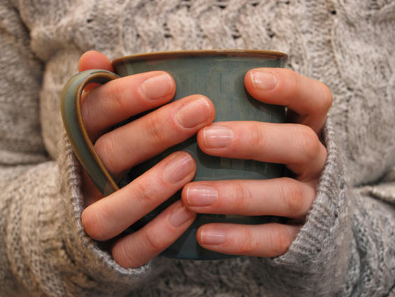 Imagen manos calientes