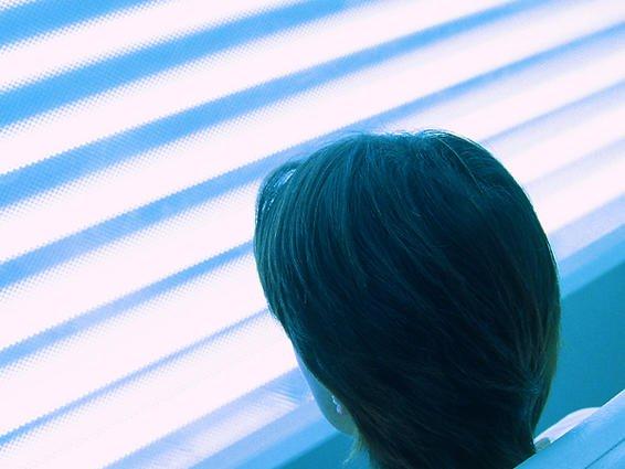 Terapia de luz azul
