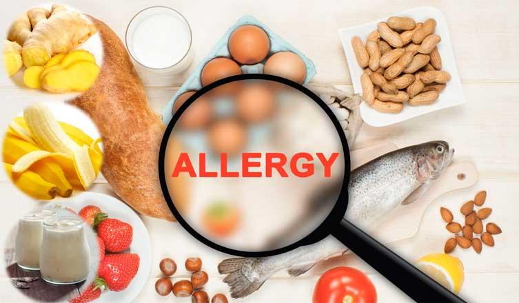Alergias a los alimentos