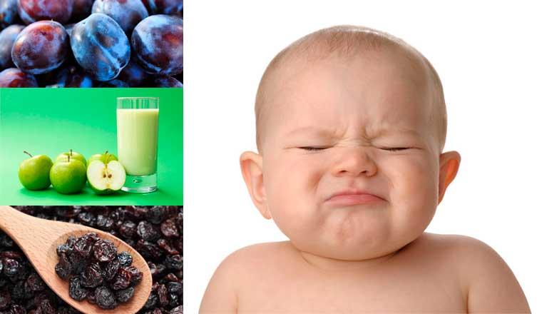 Estreñimiento en bebés