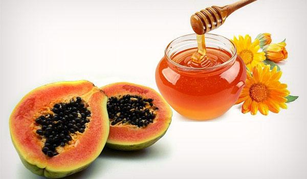 Miel y papaya