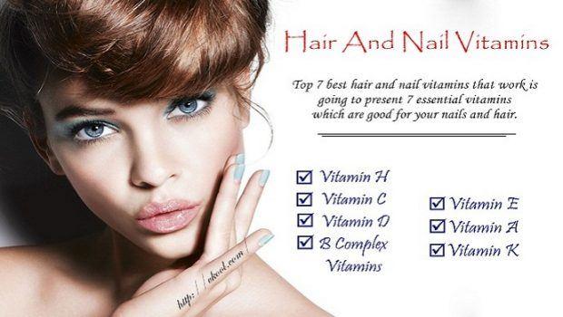 Vitaminas para el cabello y las uñas que funcionan