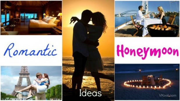 romantic honeymoon