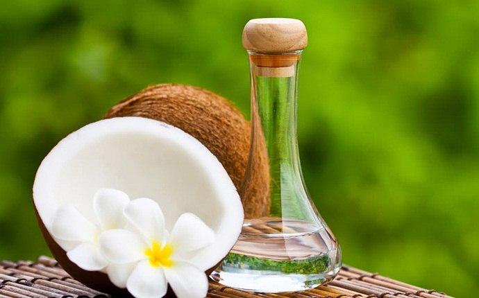 Aceite de coco, suero de leche
