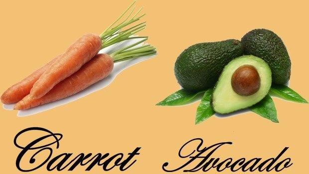 Aguacate y Zanahoria