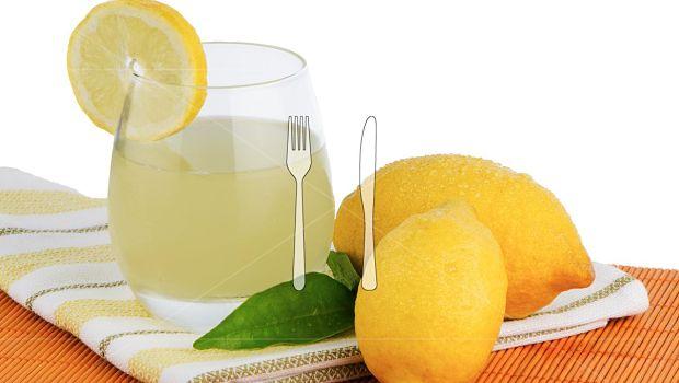 Jugo de limón fresco