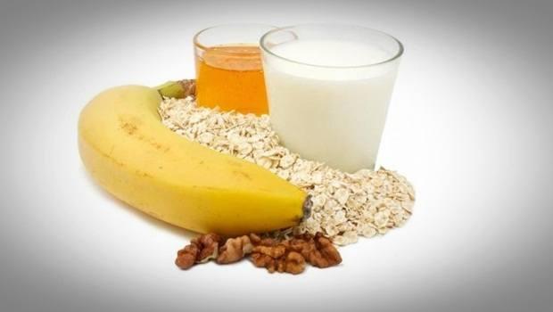 La leche de plátano