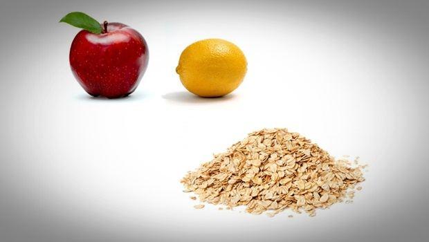 Limón, manzana