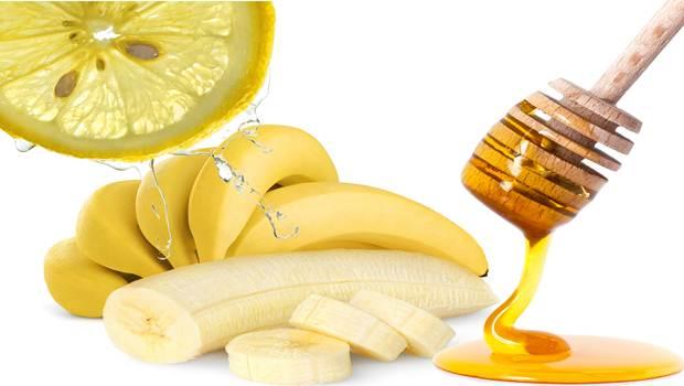 Máscara de Almendra, Plátano y Miel