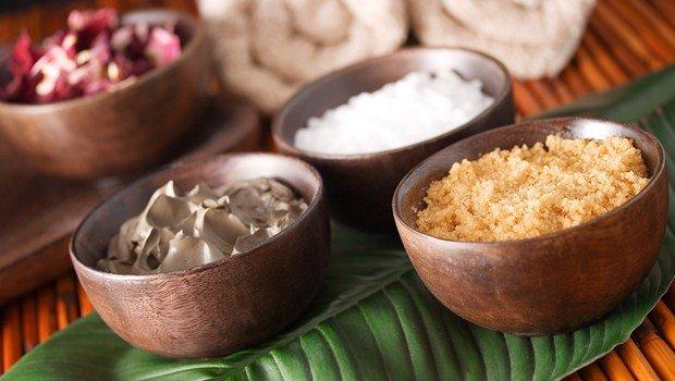 Manteca de karité y azúcar