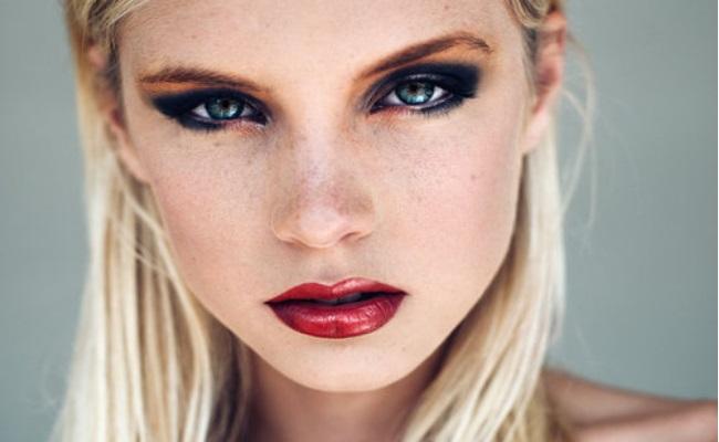 Maquillaje pesado