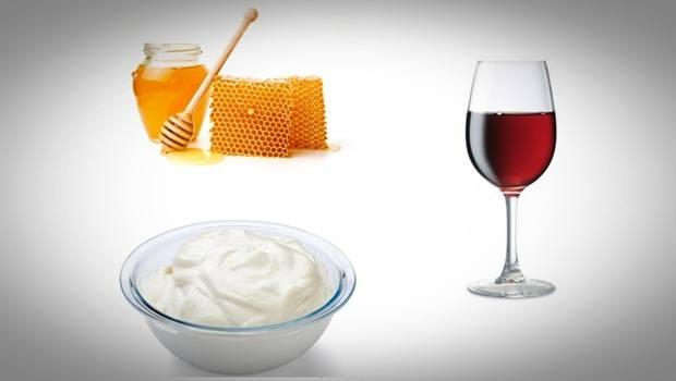 Miel, yogur