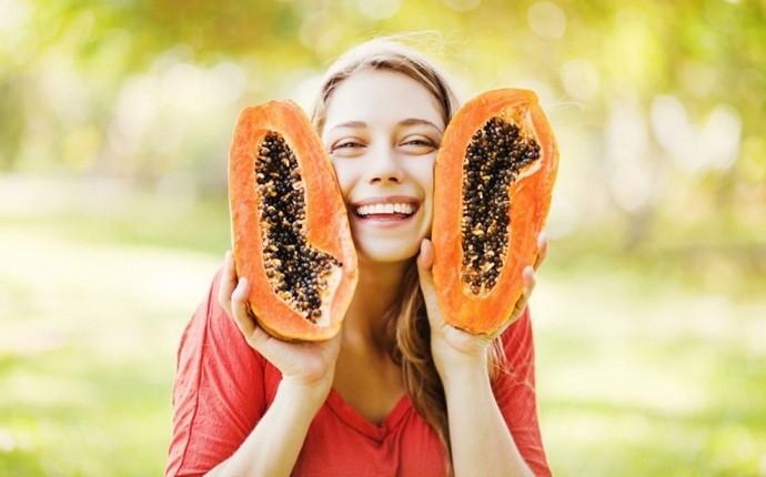 Paquete facial Papaya para piel brillante