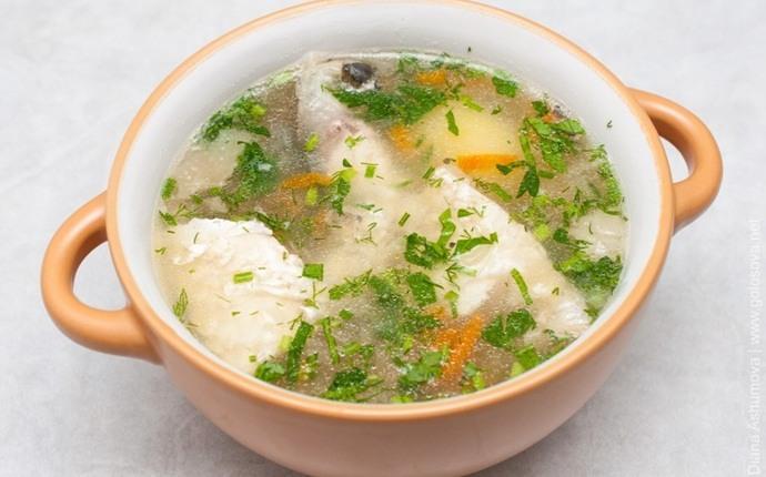 Sopa de pescado fragante