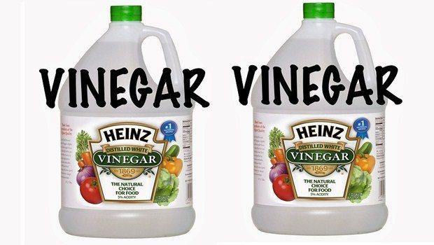 Enjuague de vinagre