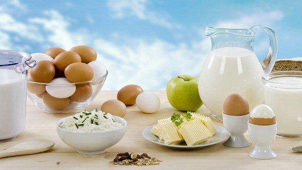 Huevo y leche