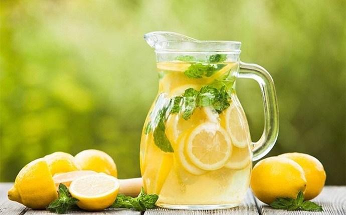 Papaya, jugo de limón