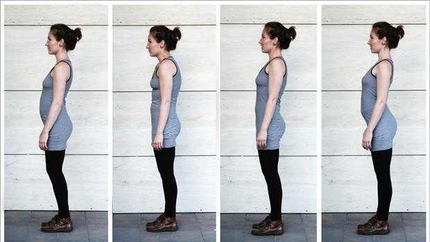 Postura de pie