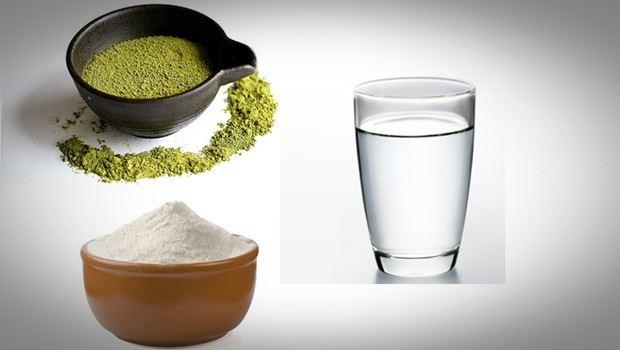 Té verde, harina de arroz