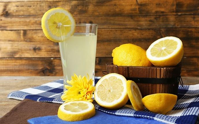 Terapia de cabello con jugo de limón