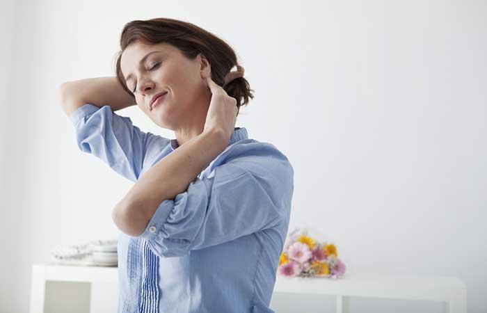 cómo deshacerse de un nervio pellizcado en el cuello