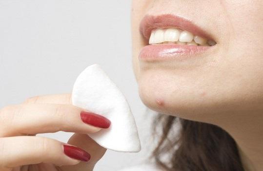 Yogur para el acné