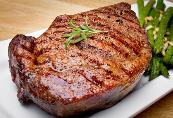Las comidas de carne
