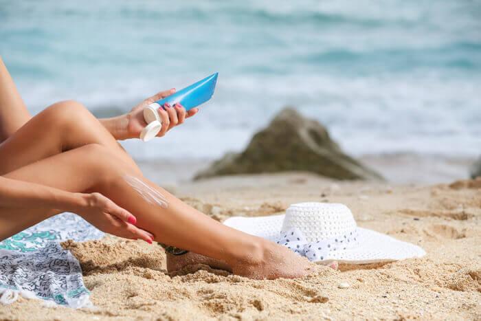 Protección SPF de Suncreen